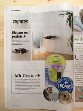 OUR CATS Ausgabe April 2017