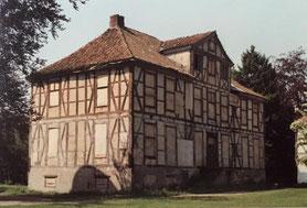 Herrenhaus, Ansicht von Nordwesten.