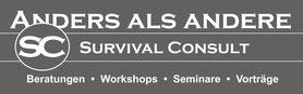 Survival Consult - Beratungen, Workshops, Seminare, Vorträge