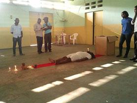 ''Requiem pour un Fou'', Performance Compto'Art 2015,Douala June 2015