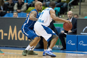 FIBA Europe Cup - 13. 01 .2016 Fraport Skyliners vs. Rosa Radom