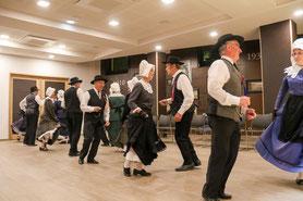 la bourrée danse populaire, groupe folklorique les ménestrels sarladais dordogne périgord région aquitaine