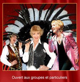 Apres midis dansantes, Déjeuner spectacle après midi dansante Restaurant La Renaissance, Aisne (02) associations et troisième age guinguettte