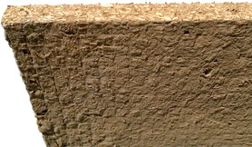 Hanf-Lehm-Bauplatte 14/22mm dick, Dämmung, Hanffaser für Dachdämmung, Wände und Vorsatzschalen