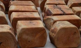 Une grande diversité d'essences travaillées par des passionnés du bois