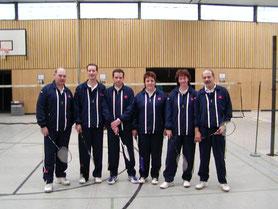 3.Mannschaft v.l.: Hans-Walter Müller, Jan Startmann, Andreas Häger, Andrea Schmitt, Sylvia Braun und Peter Röder