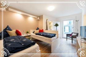 Schönes, helles Doppelzimmer für zwei Personen