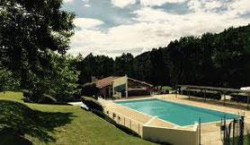 st félicien piscine du domaine de pierrageais, piscine du camping