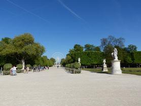 visite avec guide jardins paris