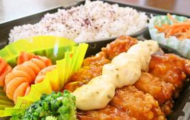 【例】チキンの竜田揚げ 南蛮 タルタル弁当