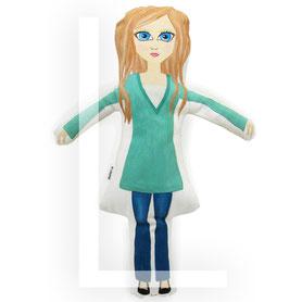 velika tekstilna punčka