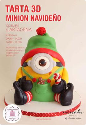 miscake, sugar art, Amanda Lopez, Cartagena, taller, curso modelado en pasta de azucar, la dulce ilusion, minions, disney, talleres infantiles, niños, peques