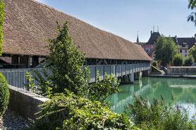 Holzbrücke Wangen an der Aare, SVP Wangen an der Aare und Umgebung