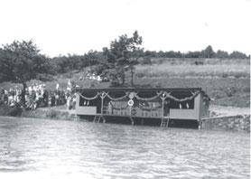 Einweihung der Badeanstalt 1930