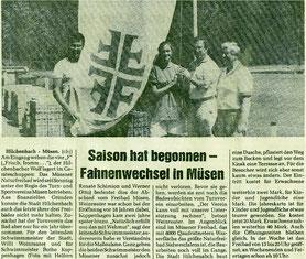 1986 war es dann soweit: 4F statt Stadtwappen