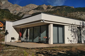 maison architecture villa alpes contemporain house