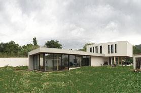 maison architecture villa alpes contemporain house