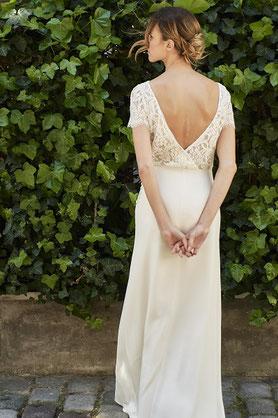 Décolleté dos robe de mariée