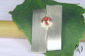 Anhänger Silber mit Umba-Saphir