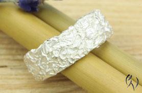 Ringe Silber, Zerknittert