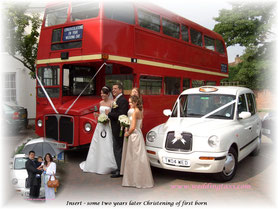 London White Wedding Taxis