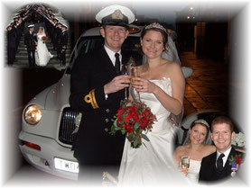 TX4 Wedding Taxi