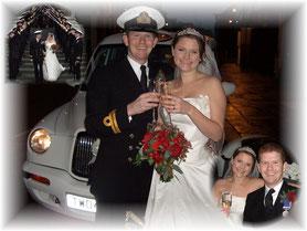 TX4 Wedding Taxi