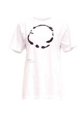 klassisch: weißes T-Shirt aus reiner Biobaumwolle