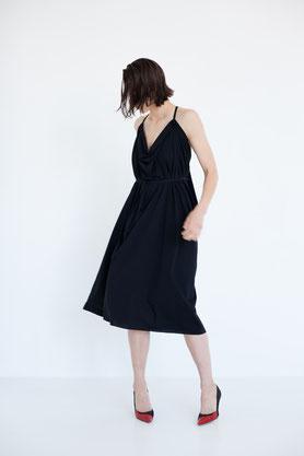 casual: elegantes, nachhaltiges Midi-Kleid aus Berlin