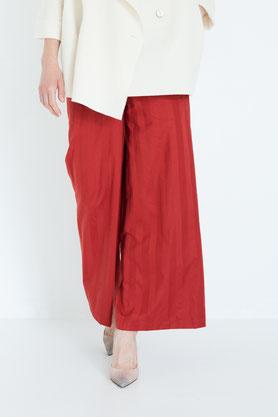 schlicht: elegante Hose aus fairem Bio-Baumwollsatin