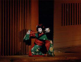 市民邦舞会『妹背山道行』お三輪  (1996年)