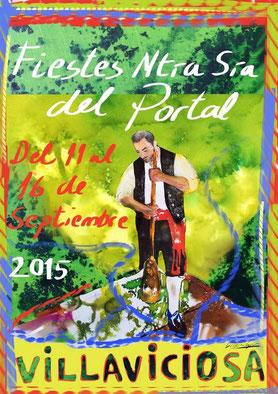 Fiestas del Portal 2015 en Villaviciosa Programa y Cartel