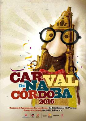 Cartel del Carnaval de Córdoba 2016