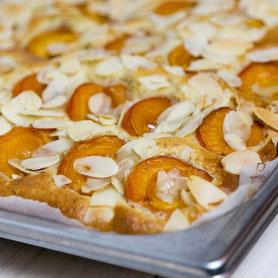 Apricot Sheet Cake.