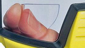 Plakleesdelen voor duikbrillen