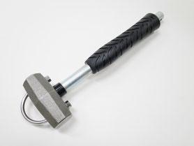 椿モデル 頭シャックル石頭ハンマー0.85kg