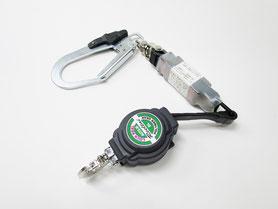 ポリマーギヤ DLNC-51S緊急ロック機能付き巻取りランヤード