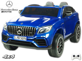 Mercedes/AMG/GLC 63S/2 Sitzer/Kinderauto/Kinder Elektroauto/lizensiert/lackiert/Fernbedienung/