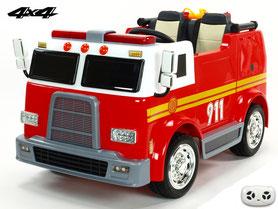 Feuerwehr/Fire Truck/Kinderauto/Kinder Auto/Kinder Elektroauto/Polizei/Allrad/Angebot/