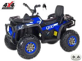 Polizei USA/Kinderauto/Kinder Elektroauto/Allrad/4x4/2 Sitzer/KidCars/Fernbedienung/