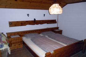 Kastnerhof Ferienwohnung 45qm - Schlafzimmer