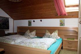 Kastnerhof Ferienwohnung 55 qm - Schlafzimmer
