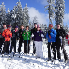 Langlaufkurs, Bretterschachten, Bodenmais, Bayerischer Wald, für Gruppen