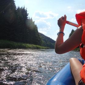 Rafting, Kanutouren, Schlauchboottouren auf dem Schwarzen Regen, Geführte Touren durch Bayerisch Kanada, Erlebnis, Event, Erlebnisveranstalter, Eventveranstalter, Gruppen, Firmen, Vereine