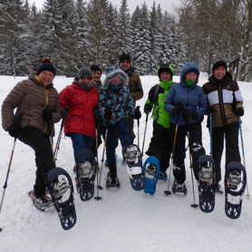 Schneeschuhwandern, Bodenmais, Arber, Silberberg, Bayersicher Wald, Kuh Alm, Gutsalm Harlachberg, geführte Schneeschuhtouren