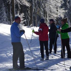 Langlaufschule, Skischule, Langlaufkurse in Bodenmais, Bretterschachten, Arber,  Skischule, Langlaufschule, Einsteiger, Fortgeschrittene, Anfänger