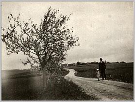 Straße nach Hochdorf Foto: Eigen