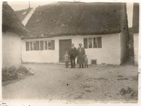 Strohhaus um 1920