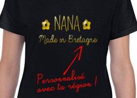 tshirt mode personnalisé nana