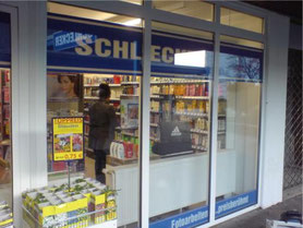 Kratzschutzfolie am Drogeriemarkt